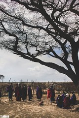 Maasai - Tanzania - Africa (TLMELO) Tags: tanzania kid boy child criança menino portrait africa masai tribe tribo serengeti poor pobre angry bravo boring kilimanjaro african africano africana retrato mount kilimanjaromount friends brothers mom son baby maasai woman hat women menina girl