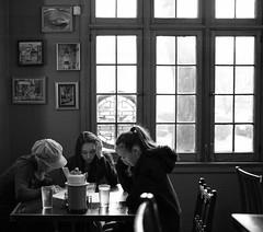 decisions, decisions at Kedai Makan, Seattle, Washington, USA (Plan R) Tags: blackandwhite restaurant malaysian kedai makan seattle leica m 240 summilux 35mm