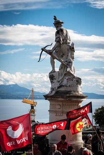 Cortège du 1er mai à Lausanne - May Day