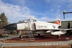 McDD F4D PHANTOM 66-7716 USAF (shanairpic) Tags: museum preserved boron saxonaerospacemuseum jetfighter f4 mcdonnelldouglasf4phantom 667716 usaf