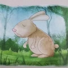 Cerita Tentang Binatang : Si Kelinci Yang Memiliki Telinga Biru Tua (ardi_wonderfull) Tags: cerita tentang binatang