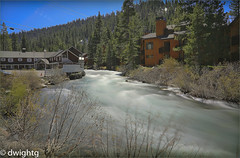 High river water (dwight g) Tags: canon 6d 24105 river buildings trees ps topaz