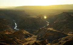 Fish River Canyon, Namibia (clasch) Tags: fish river canyon namibia africa landscape nature desert sunset golden hour nikon d7000 nikkor 1224 hobas