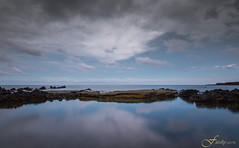 Reflejo azul (Fitosky) Tags: reflection clouds sky sea ndfilters tokina1116f28 eos750d canon