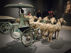 IMG_0487 (jaglazier) Tags: 2017 20thcentury 20thcenturyad 210bc 3rdcenturybc 5317 adults ageofempireschineseartoftheqinandhandynasties221bc–ad220 ancestors animals animist carts chariots chinese copyright2017jamesaglazier gravegoods horses imperial mammals may men metalsculpture metropolitanmuseum museums newyork portraits qin qinshihuangdimausoleumsitemuseum shaanxi shihuangdi specialexhibits transport usa urbanism xian archaeology art bronzesculpture burialgoods china cities copies crafts funerary horsetack metalworking modern painted religion replicas rituals royal sculpture tombfurnishings unitedstates