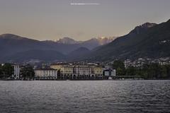 #033 Lungolago di Lugano 2017 (Enrico Boggia | Photography) Tags: lugano enricoboggia maggio 2017 ceresio lagodilugano luganolake lakelugano parcociani tramonto gazzirola montegazzirola città luganese