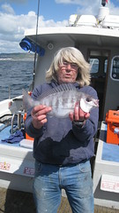 """Phil Hodder with a season's best Black Bream • <a style=""""font-size:0.8em;"""" href=""""http://www.flickr.com/photos/113772263@N05/34534102912/"""" target=""""_blank"""">View on Flickr</a>"""