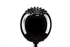 Magnetic Fluid Lollipop (snorkie128) Tags: ferrofluid metal liquid sphere black macro