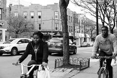 """Bike Riders (Santos """"Grim Santo"""" Gonzalez) Tags: fttt instagram bike riders queens ny 2017 streetphotographer nycstreets newyorkcity newyorknewyork myfujifilm fujifilm picoftheday storyofthestreet nyspc gothamist citylife ridgewoodqueens grimsanto nyc urbanphoto quietmoments streetphotography nyclife flickr canpubphtoto urbanphotography photooftheday igstreet grimography photodaily timeoutnewyork blackandwhite monochrome zonestreet"""