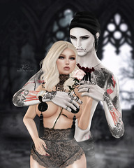 - My King and I ♥ - (Mr. Lambert) (♛ Owner of Signature Pose ♛) Tags: cupcake d friendsforever immortals