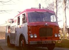 Dennis F34 FoP KLV 810E Liverpool FB (petros.williams@btinternet.com) Tags: pyrene klv810e dennisf34 liverpoolfirebrigade bishopeton