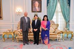 Majlis makan tengah hari meraikan YTM Putera Naruhito,Putera Mahkota Jepun dan Delegasi.Seri Perdana,Putrajaya.15/4/17 (Najib Razak) Tags: majlis makan tengah hari meraikan ytm putera naruhito mahkota jepun dan delegasi