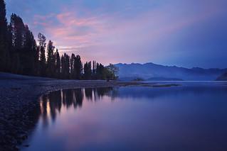 A Pleasant Evening at Lake Wanaka