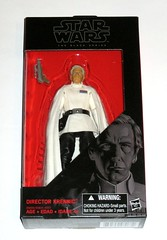 star wars the black series 6 inch action figure #27 director krennic rogue one a star wars story hasbro 2015 misb a (tjparkside) Tags: director krennic orson 27 tbs star wars black series 6 six inch basic action figure figures removable cape blaster pistol story rogue one 1 hasbro 2016 advanced weapons research imperial military death project 2015 misb