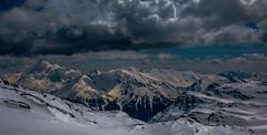 Au Royaume des Neiges (Frédéric Fossard) Tags: nature glacier nuage ombre lumière atmosphère dramatique altitude horizon vallée alpes savoie vanoise parcnationaldelavanoise massifmontagneux neigedeprintemps cimesenneigées