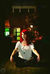 Ivy League #3 (Roar & Gills) Tags: roarandgills roargills canon6d alley alleyway downtown nighttime shutterdrag poison ivy batman red hair