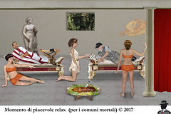 MOMENTO INDIMENTICABILE (ADRIANO ART FOR PASSION) Tags: photoshop fotomontaggio photomontage pompei relax pranzo porchetta fantasia fantasy adrianoartforpassion io cassio interno festino privé lupanare gentiluomo gentleman universoparallelo stargate t