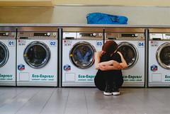 Maike (Jan Meifert) Tags: lomography lomo color negative 35mm analogue analog film portraiture portrait porträt laundry laundrette waschsalon altona ottensen mawehh jan meifert