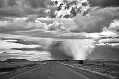 Storm in Marathon, Texas