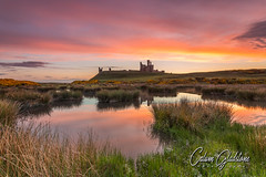 Tranquility (Calum Gladstone) Tags: northumberland dunstanburgh castle sunrise landscape epic sky reflection leefilters canon6d