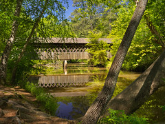 Pooles Mill covered bridge (Tim Ravenscroft) Tags: coveredbridge georgia river trees usa hasselblad hasselbladx1d x1d