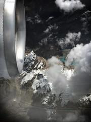 Cordillera de los Andes (GaboUruguay) Tags: andean mountains cordillera andes peru plane avion aircraft view landscape montaña nieve snow copa nube cloud