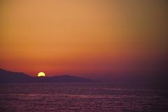 Copper Sunset in Creta (Rene'D.) Tags: kreta sunset copper magenta creta sea island sun down greece dusk