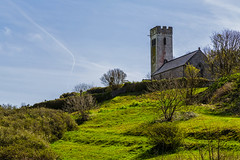 Photo of St. James' Church at Manorbier - Pembrokeshire, Wales