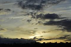 Sunset/Atardecer (C.F.A.L.) Tags: madrid spain españa atardecer sunset nikon d3200 primavera spring cielo sky nubes clouds ciudad city