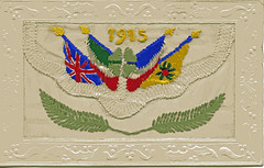 1915 - France (mgjefferies) Tags: postcard france embroidered 1915 ww1