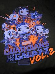 Guardians Vol2 shirt (Dex1138) Tags: funko marvel comic guardians galaxy starlord gamora rocket raccoon groot drax yondu mantis nebula