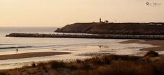 Faro de San Juan (OlayaGonzalez_Fotografia) Tags: faro playa mar sanjuandenieva farodesanjuan asturias españa atardecer avilés
