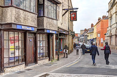 Town centre, Cirencester, Gloucestershire (Baz Richardson (trying to catch up again!)) Tags: gloucestershire cirencester streetscenes castlestreetcirencester shops