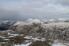 Meall nan Eun towards Bidean. (Chris Firth of Wakey.) Tags: mealsnaneuan bideannambian munros