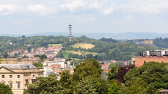 Purdown (Joe Dunckley) Tags: brandonhill bristol cabottower england northbristol purdown purdowntransmitter uk architecture building fromabove hill landscape nature summer sunny telecommunications tower transmitter tree woodland