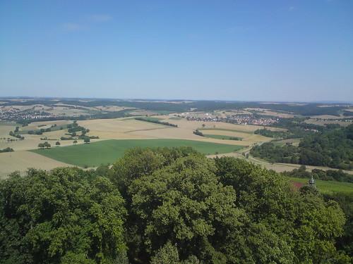 Ausblick von der Burg Steinsberg