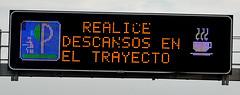 Conduce con Cuidado (trascasluchi) Tags: cartel luminoso señal trafico