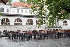 Beautiful Ljubljana, Slovenia (George Pachantouris) Tags: slovenia europe ljubljana european medieval architecture ljubljanica