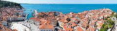 Piran panorama, Slovenia (George Pachantouris) Tags: slovenia piran adriatic sea sun summer venetian enetian