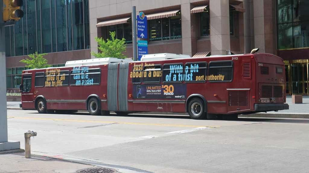 The world 39 s newest photos of bus and pittsburgh flickr hive mind - Pittsburgh port authority ...