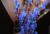 Pégase / Pegasus (Fontenay-sous-Bois Officiel FRANCE) Tags: fontenay fontenaysousbois regionparisienne valdemarne iledefrance 94 94120 fsb france blue bleu cheval horse chevaux horses expo exposition artshow art inside intérieur pégase equin pegasus nikon nikond3s french beautiful nice belle buena bonita hermosa francia frances arte caballo équidé equino azul exposición caballos artistic artistique artístico