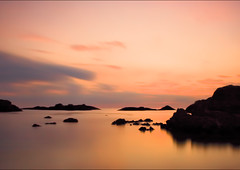 Ballintoy sunset A4dscl (John Lawell) Tags: ballintoy seascape golden hour longexposure