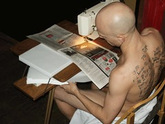 CLICHE AU LAIT (M3house.org) Tags: art au lait clicheaulait nude gender identity sex blood cliche pain tattoo