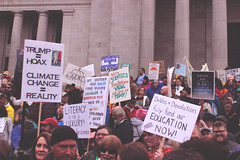 science says no to trump (FADICH PHOTOGRAPHY) Tags: science march themarchforscience 2017 april earthday earth day lisaparshley activism protest olympia washington environmentalism gogreen clean energy vote womenofscience climatechange climate change global warming poverty war drought resourcescarcity