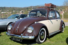 Volkswagen Coccinelle 1300 (seb !!!) Tags: 2017 auto automobile automovel automovil automobil berline coupé coach canon 1100d cars anciennes ancienne old oldtimers populaire bourse déchange mantes la jolie seb france voiture wagen car allemande allemand deutschland german germany deutsch photo picture foto image bild imagen imagem classique classic klassic galerie dachträger roof rack baca bagageiro portabagagli chrome beige bege marron brown marrom marrone braun