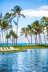 Add Another Hour (Thomas Hawk) Tags: andaz andazmauiatwailea hawaii maui wailea palmtree pool swimmingpool tree fav10
