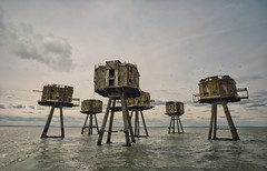 Sea Forts (mde..) Tags: red sands sea forts maunsell explore exploration xpilot ww2 war sony loxia abandoned ue urbex old rusty rustyandcrusty historic