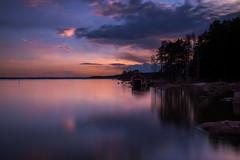 Blue moment (Jyrki Salmi) Tags: jyrki salmi vanhaniemi maijansalmi pyhtää finland sunset serene sea