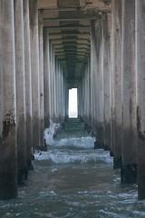 under the pier (colinfranckephotography) Tags: surf city usa huntington beach