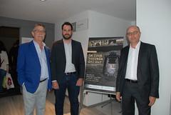 Juan Hidalgo, el actor Rafa Rodríguez y el director. (almeriainformacion) Tags: cine documental la fosa borrada del sur memoria histórica almería museo de